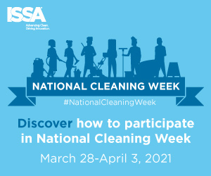 National Cleaning Week 2021